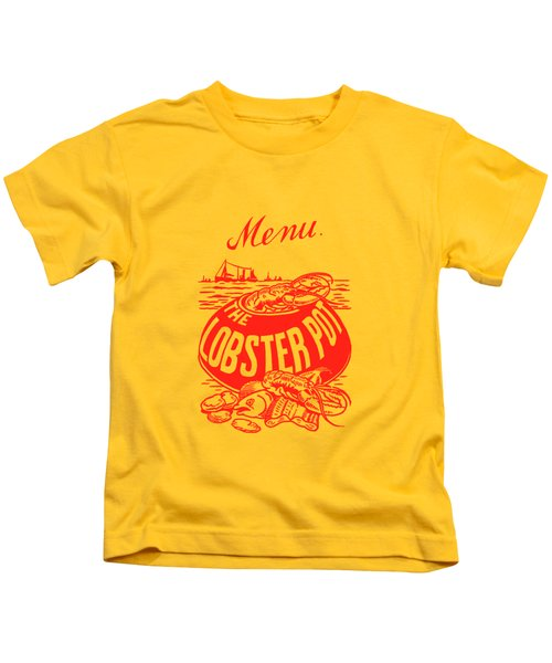 The Lobster Pot 1960s Kids T-Shirt