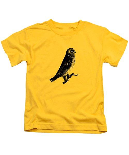 The Short Eared Owl Kids T-Shirt