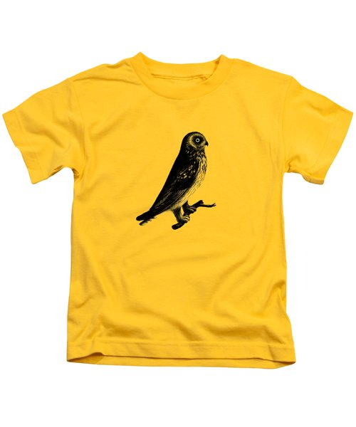 The Short Eared Owl Kids T-Shirt