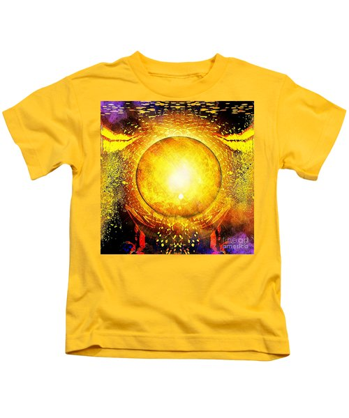 The Sun In Your Hands Kids T-Shirt