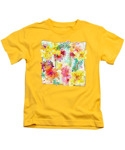 Tropicana Abstract By Kaye Menner Kids T-Shirt