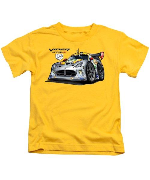 Viper Gts-r Car-toon Kids T-Shirt