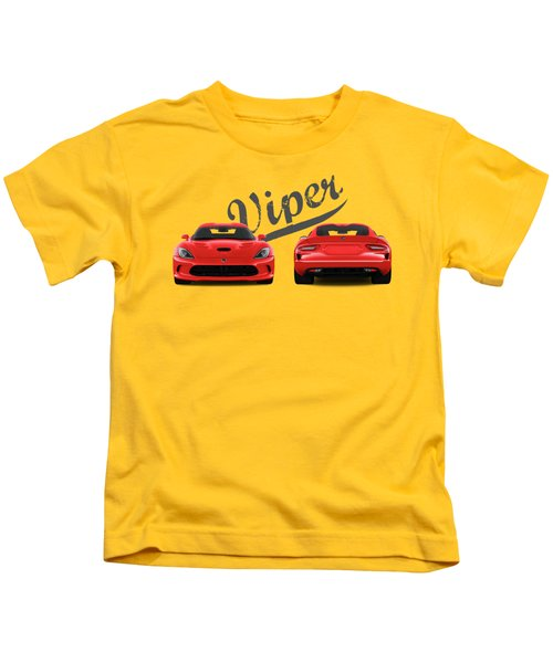 Viper Kids T-Shirt by Mark Rogan
