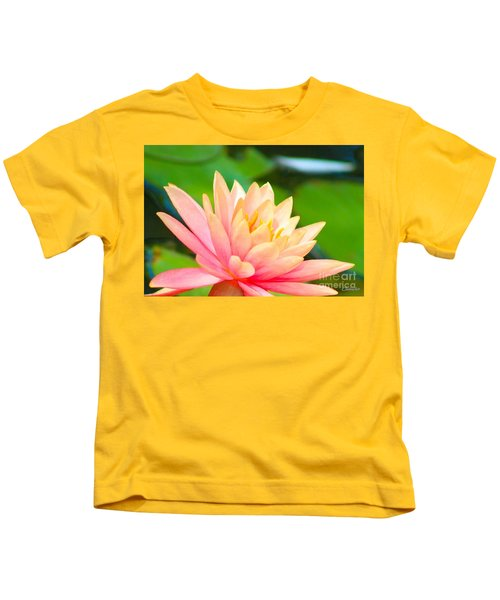 Floating Water Lily  Kids T-Shirt