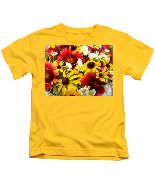 Wildflower Riot Kids T-Shirt