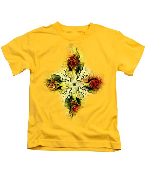 Yellow Cross Kids T-Shirt
