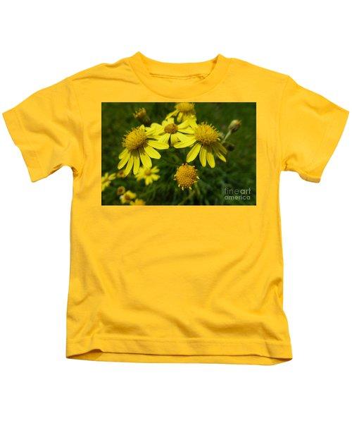 Yellow Daisies 2 Kids T-Shirt