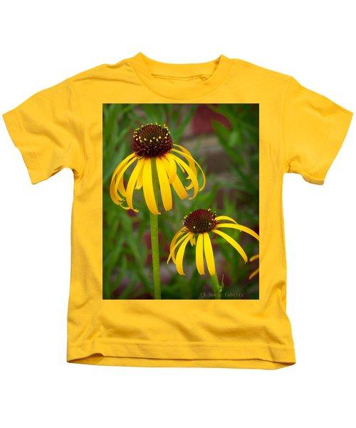 Yellow Pair Kids T-Shirt