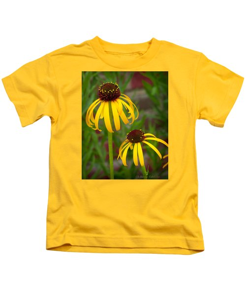 Yellow Pair Kids T-Shirt