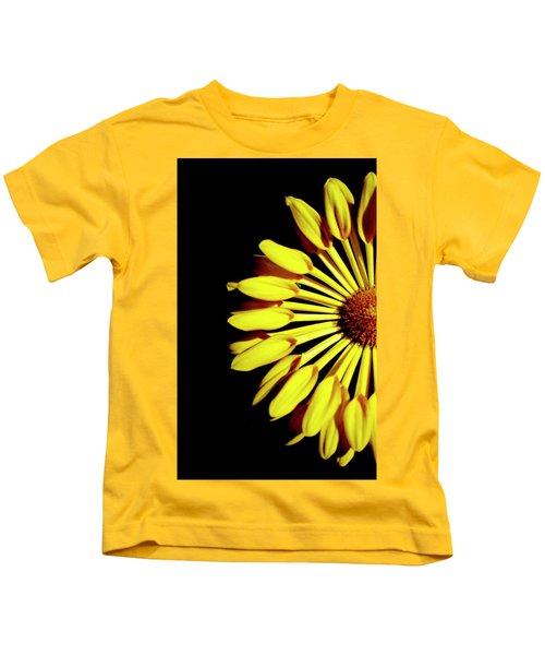 Yellow Petals Kids T-Shirt