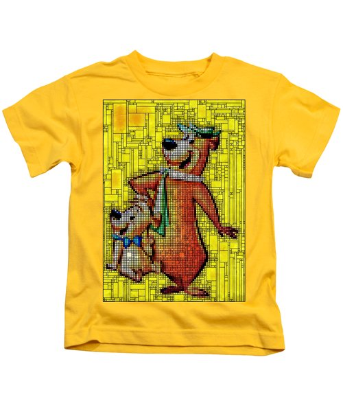 Yogi And Boo Boo Kids T-Shirt
