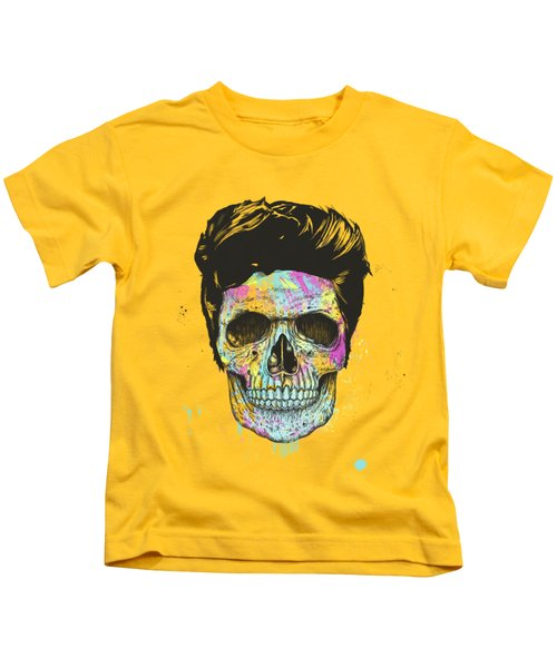 Color Your Skull Kids T-Shirt