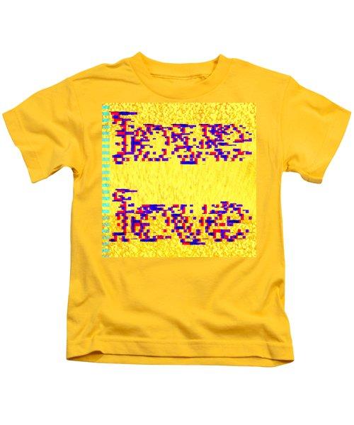 Glitched Love Kids T-Shirt