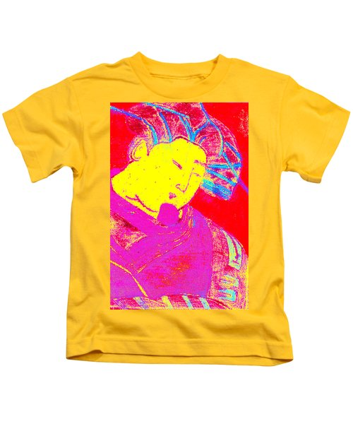 Japanese Pop Art Print 9 Kids T-Shirt