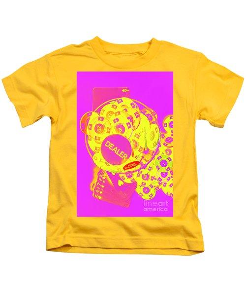 Pop Art Poker Kids T-Shirt