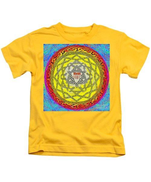 Psalm 37 Kids T-Shirt