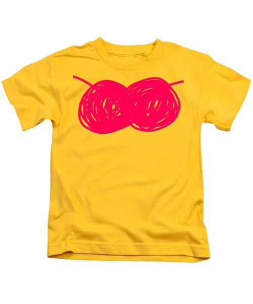 Two Red Cherries Kids T-Shirt