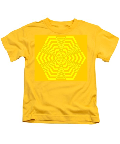 Young At Heart Yellow Kids T-Shirt