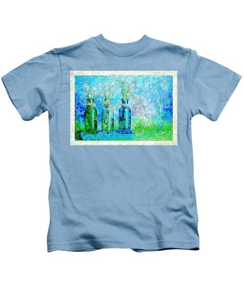 1-2-3 Bottles - S13ast Kids T-Shirt