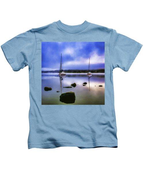 Boats On Ullswater Kids T-Shirt
