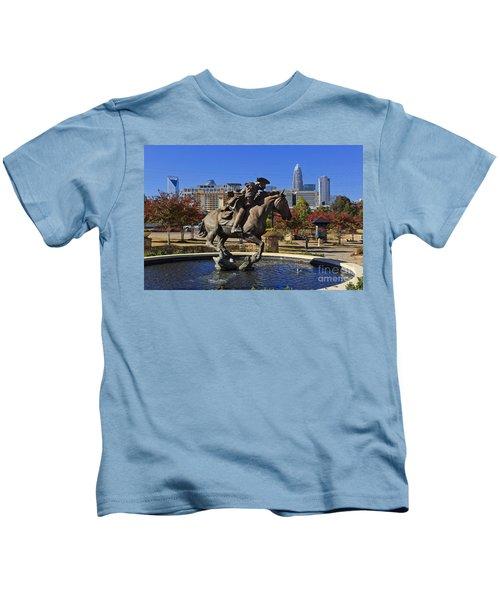 Elizabeth Park At Charlotte Kids T-Shirt