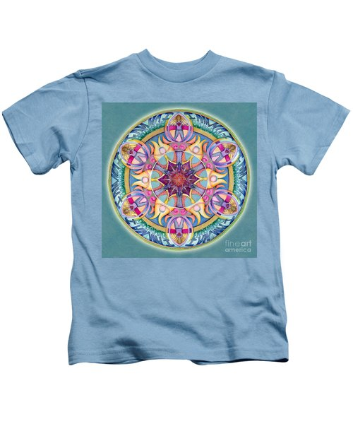 I Am Enough Mandala Kids T-Shirt