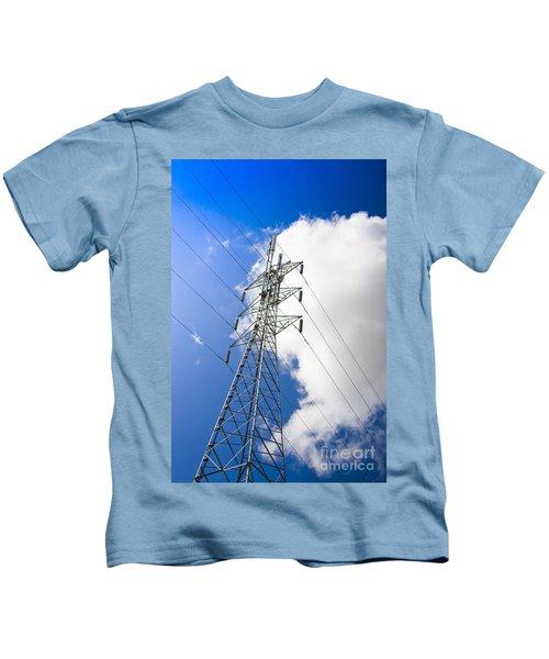 Pillar Of Power Kids T-Shirt