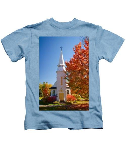 St Matthew's In Autumn Splendor Kids T-Shirt