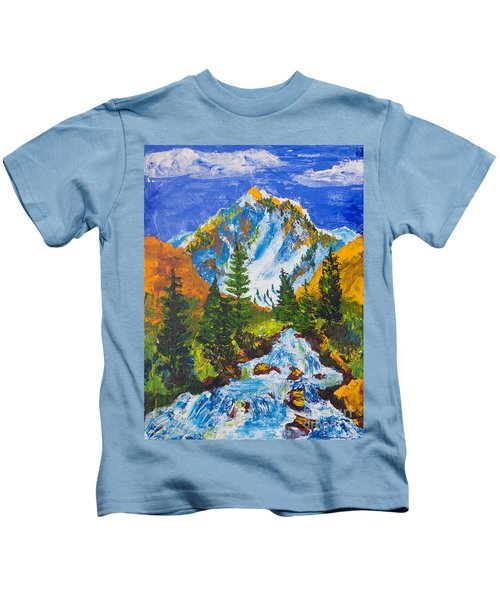 Taylor Canyon Run-off Kids T-Shirt