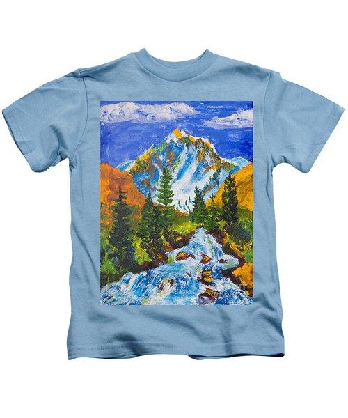 Taylor Canyon Run-off Kids T-Shirt