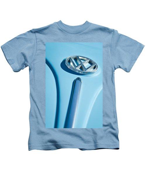 1960 Volkswagen Vw Hood Emblem Kids T-Shirt