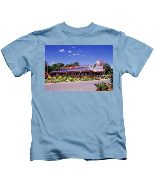 1990s Classic Art Deco Style Diner Hyde Kids T-Shirt