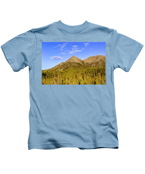 Alaska Mountains Kids T-Shirt