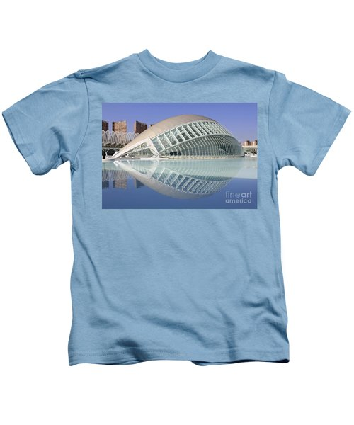 The Hemisferic In Valencia Spain Kids T-Shirt