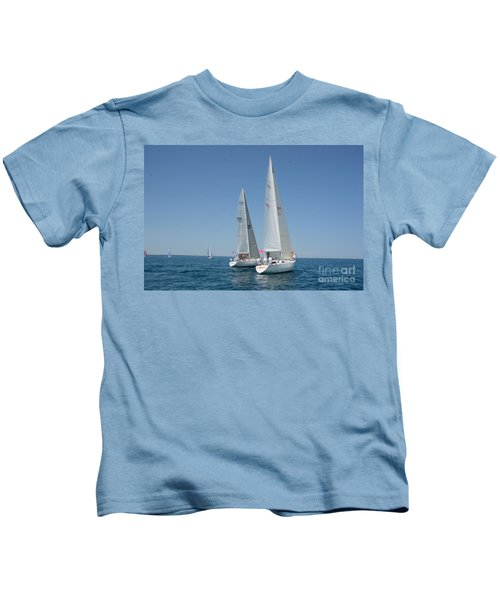 Sailboat Race Kids T-Shirt