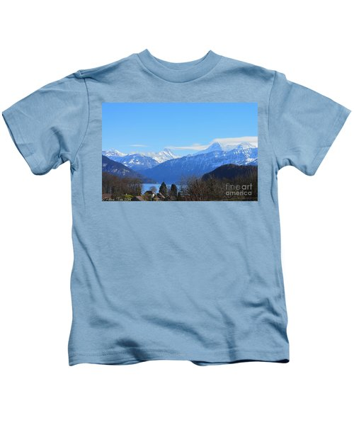 A Dream Over The Lake Kids T-Shirt