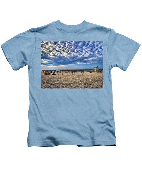 a good morning from Jerusalem beach  Kids T-Shirt