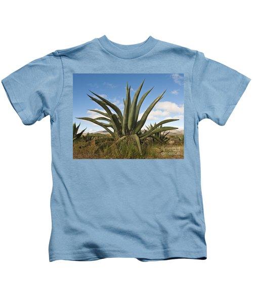 Agave Plant Kids T-Shirt