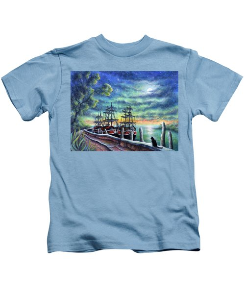 And We Shall Sail My Love And I Kids T-Shirt
