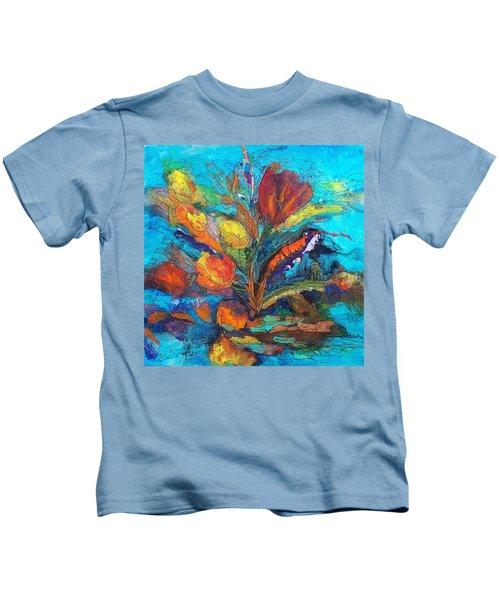 Autumn In Oklahoma Kids T-Shirt