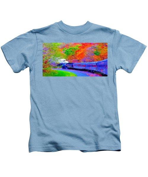Bang Bang Choo Choo Train-a Dreamy Version Collection Kids T-Shirt