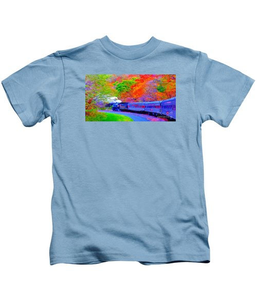 Bang Bang Choo Choo Train-a Dreamy Version Collection Kids T-Shirt
