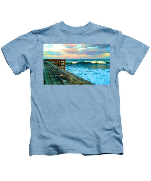 Beauty Of The Pier Kids T-Shirt