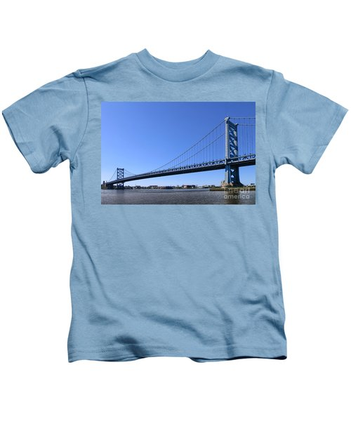 Ben Franklin Bridge Kids T-Shirt