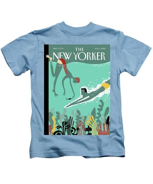 Beneath The Waves Kids T-Shirt