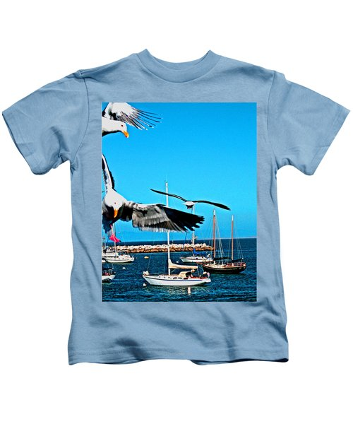 Birds In Paradise Kids T-Shirt