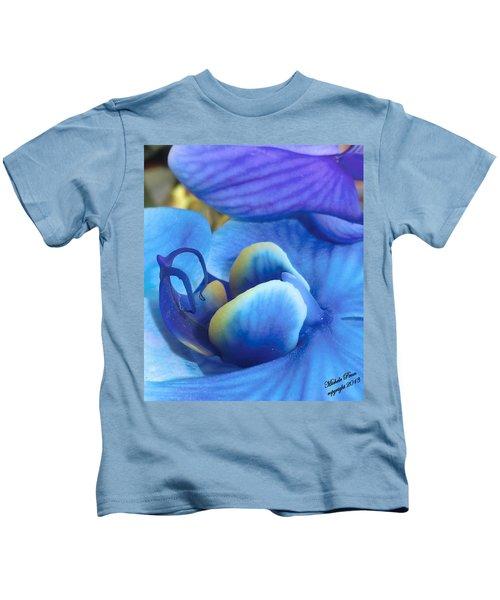 Blue Oasis 2  Kids T-Shirt