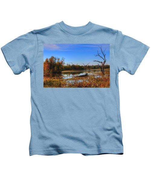 Brazos Bend Swamp Kids T-Shirt