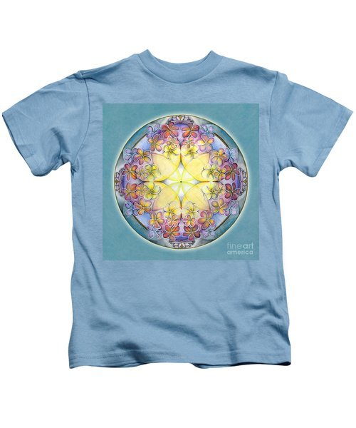 Breath Of Life Mandala Kids T-Shirt