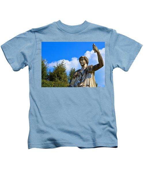 Caesar On Blue Sky Kids T-Shirt